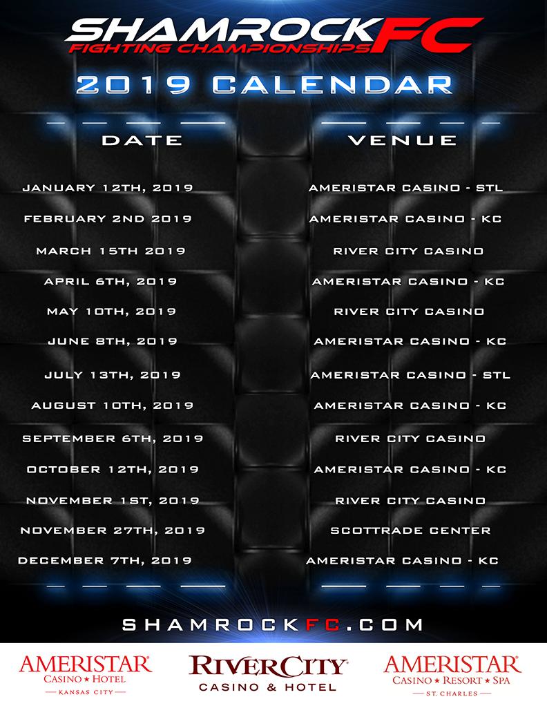 Kansas City Calendar Of Events 2019 2019 Shamrock FC Schedule   Shamrock FC